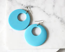 1960 s earrings 1960s mod earrings etsy