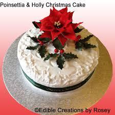 christmas cake holly decorations u2013 decoration image idea