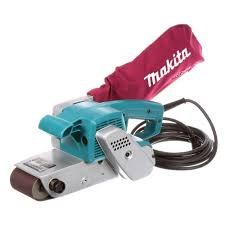 Belt Sander Rental Lowes by Makita 7 8 Amp 3 In X 24 In Corded Belt Sander 9924db The Home