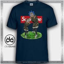 supreme shirts graphic shirts supreme rick and morty on sale
