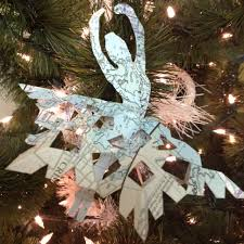 Ballerina Christmas Tree Ornaments by Paper Ballerina Snowflakes Kids Kubby