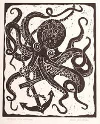 cool octopus i whipped up for a client tattoo technique