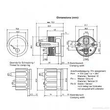 vdo vdo vision black 220f water temperature gauge 12v use with us