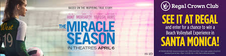 The Miracle Season 2 The Miracle Season Opening Soon In Theatres