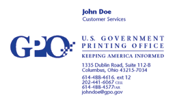 Us Government Business Cards Government Business Cards Law Enforcement Business Cards Design