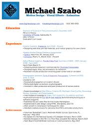 Video Resume Creator My Resume Builder Free Resume Template And Professional Resume