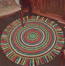 Area Rug Patterns Patterns For Crocheted Round Area Rug Round Rug U2013 Free Crochet