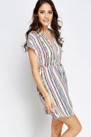 coloured dress multi coloured striped dress just 5