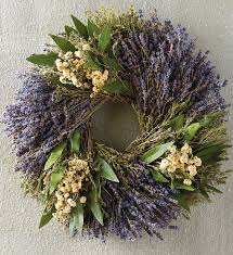 herb wreath dried lavender wreath decorative wreath delivery harry david