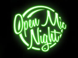 Open Light Up Sign Last Day To Sign Up Sweater Weather Open Mic Night