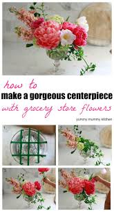 how to make flower arrangements floral centerpiece recipe floral arrangement floral and flower