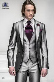 light gray vested suit italian bespoke light gray fashion suit with waistcoat style 413