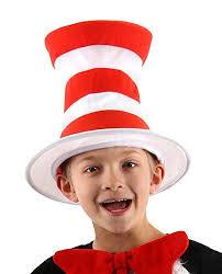 Halloween Costumes Cat Hat Amazon Dr Seuss Cat Hat Kids Tricot Hat Elope