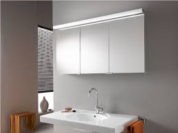 Bathroom Cabinet With Light Mirrored Bathroom Cabinets With Lights Lighting Battery Led Mirror