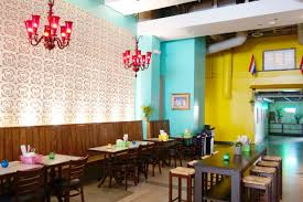 there u0027s a colorful new thai restaurant in the heart of downtown la