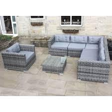 rattan corner sofa grey rattan corner sofa set