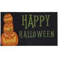 halloween doormat non slip backing door mats mats the home depot