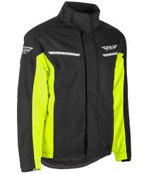 mtb jackets aurora black hi vis jacket fly racing motocross mtb bmx