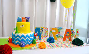 1st birthday party ideas for colorful themed 1st birthday party pretty my party