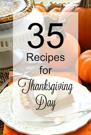 35 recipes for thanksgiving day toot sweet 4 two