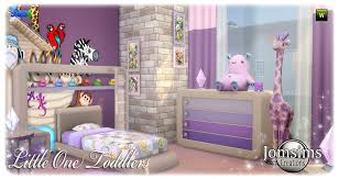 toddlers bedroom room child sims 4