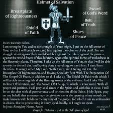 prayer for protection full armor of god lord jesus saves u203f u2020