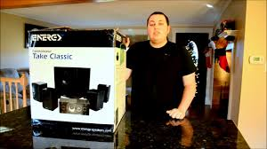 energy home theater speakers energy take classic 5 1 home theater system first look review