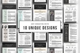 The Resume The Best Cv U0026 Resume Templates 50 Examples Design Shack