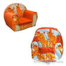 Children Armchairs Kids Children U0027s Comfy Soft Foam Chair Cover Only Toddlers Armchair