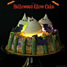 halloween glow cake simply sated