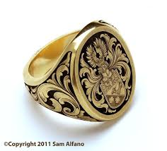 signet ring men 50 best family crest rings men images on rings