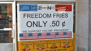 They Call Me Freedom Just Like A Waving Flag Nobody Knows Why We Still Call Them Freedom Fries Vice