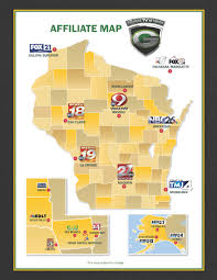 Tv Reception Map Packers Com Broadcast Partners