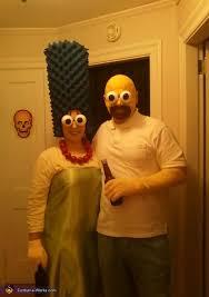 Simpson Halloween Costumes Marge Homer Simpson Costumes Simpsons Costumes Homer
