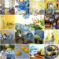 blue and yellow kitchen ideas blue and yellow decor best blue yellow kitchens ideas on kitchen