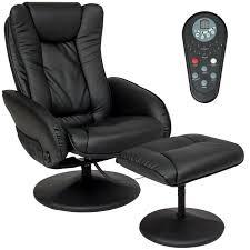 best choice products pu leather massage recliner ottoman w