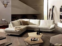 Natuzzi Releve White Sectional I Love The Sleek Modern Look Of - Sleek sofa designs