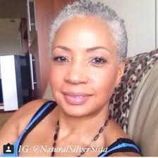 how to wear short natural gray hair for black women 18 best short cuts with gray hair images on pinterest short