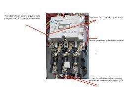 ac motor starter wiring diagram