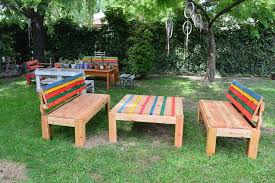 Recycled Pallet Outdoor Furniture Set  Pallets - Recycled outdoor furniture