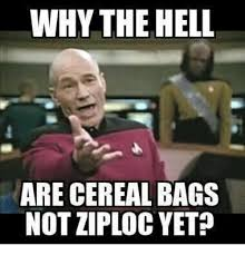 Cereal Girl Meme - why the hell are cereal bags not ziploc yet girl meme on me me