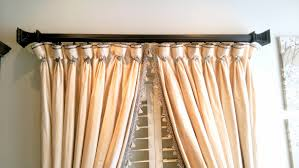 Decorative Traverse And Stationary Drapery by What Is A Drapery Ambiance Design