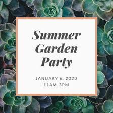 Summer Garden Party Ideas - 40 garden party ideas canva