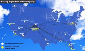 Crime Map Colorado Springs by Nonstop Flights Increasing At Colorado Springs Airport Colorado