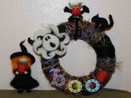 How To Make Halloween Wreaths by Decoration Diy Halloween Wreaths Decor Ideas Inspiring Home