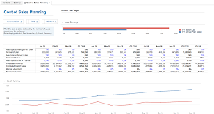 planning budgeting and forecasting for saas app