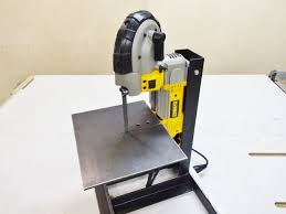 Bench Mounted Band Saw - portable bandsaw metal stand 24 steps with pictures