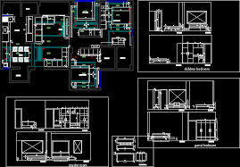 home design cad interior design 3 bedroom home dwg block for autocad designs cad