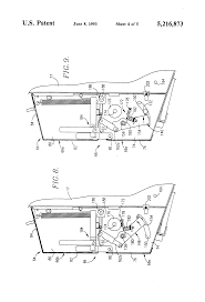 patent us5216873 wrapper cutoff mechanism for round balers