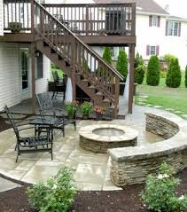 Patios And Decks Designs Patio Deck With Separate Firepit Patio Traditional Patio